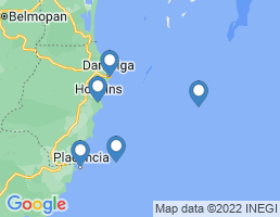 map of fishing charters in Hopkins