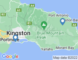 map of fishing charters in Port Antonio