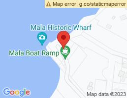 map of fishing charters in Wailuku