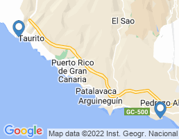 map of fishing charters in Pasito Blanco