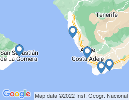 map of fishing charters in Amarilla Golf