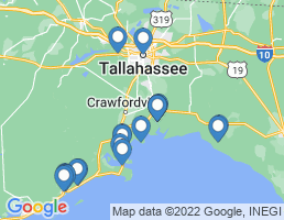 map of fishing charters in Saint Marks
