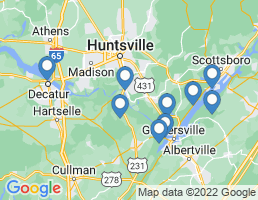 map of fishing charters in Union Grove