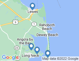 map of fishing charters in Delaware