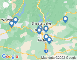 map of fishing charters in Anderson