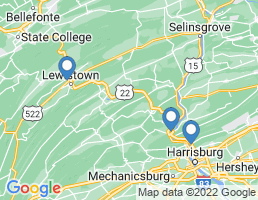 map of fishing charters in Lewistown