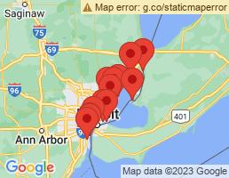 map of fishing charters in Warren