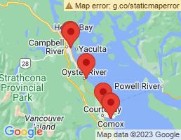 map of fishing charters in Black Creek