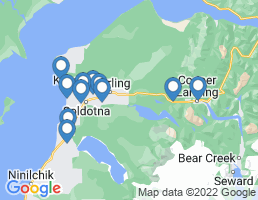 map of fishing charters in Sterling