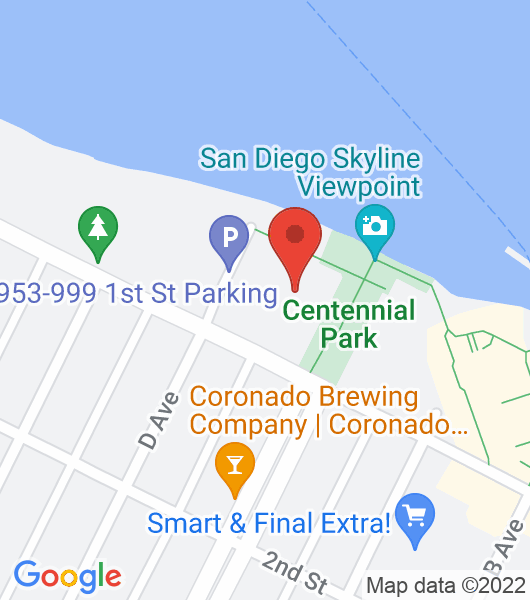 1099 First St., Coronado, Ca. 92118