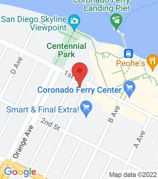 1132 First St., Coronado, Ca. 92118