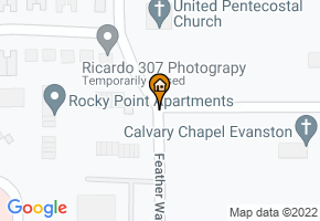 Rocky Point Apartments map