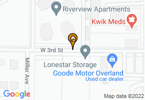 Homes at Riverwalk map