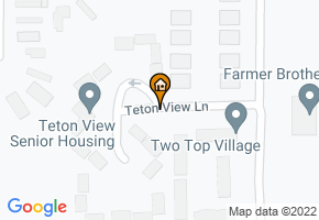 Teton View Senior Housing map