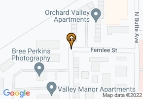 Orchard Valley Apartments map