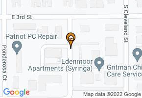 Edenmoor Apartments map