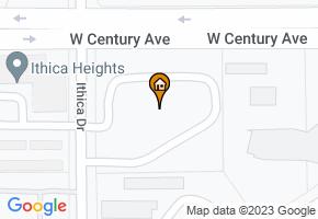 Sierra Court Apartments map