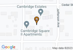 Cambridge Square II Apartments map