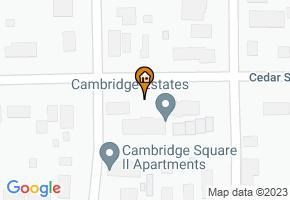 Cambridge Square Apartments map