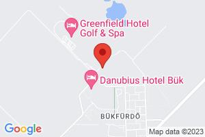 Map Hotel Greenfield Golf & Spa**** Bükfürdő