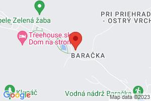 Mapa Parkhotel na Baračke**** Trenčianske Teplice