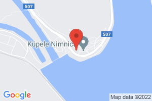 Mapa Liečebný dom Caritas Nimnica