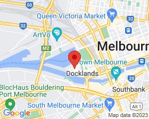 Branch location map