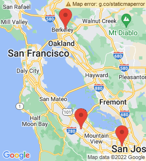 Bay Area Breakout Mentors map