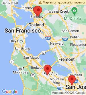 Berkeley Breakout Mentors map