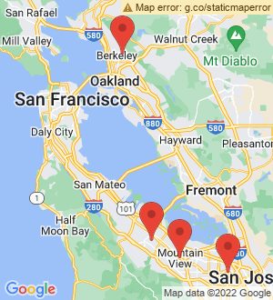 Mountain View Breakout Mentors map