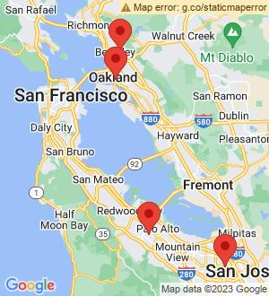 Oakland Breakout Mentors map