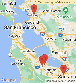 Palo Alto Breakout Mentors map