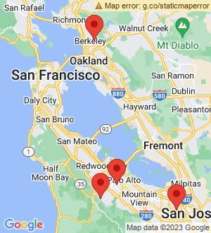 Portola Valley Breakout Mentors map