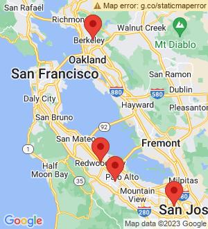 Redwood City Breakout Mentors map