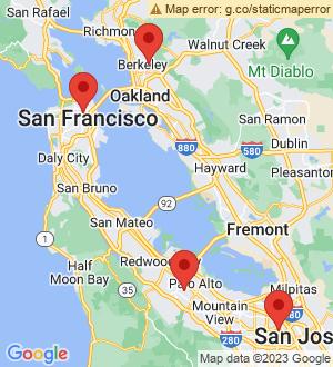 San Francisco Breakout Mentors map