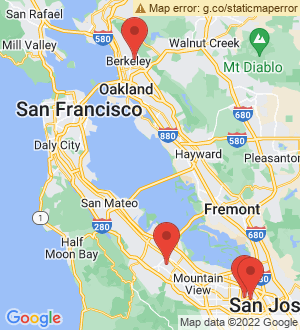Santa Clara Breakout Mentors map