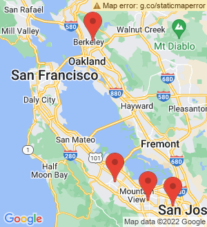Sunnyvale Breakout Mentors map