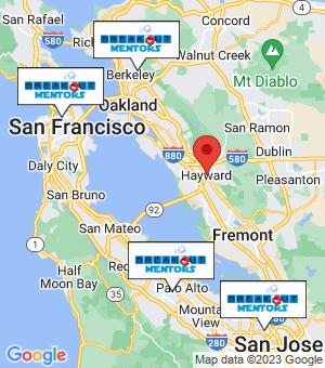 Hayward Breakout Mentors map
