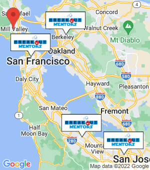 Mill Valley Breakout Mentors map