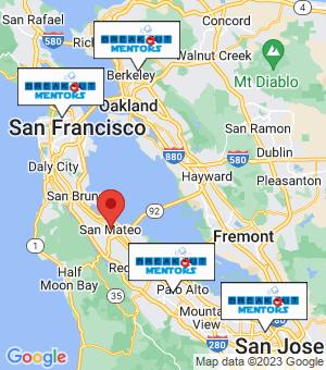 San Mateo Breakout Mentors map