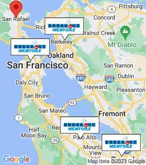 San Rafael Breakout Mentors map