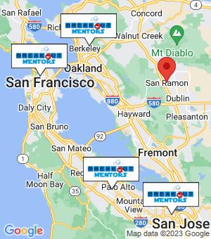 San Ramon Breakout Mentors map
