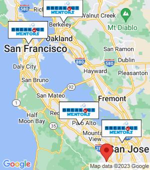 Saratoga Breakout Mentors map