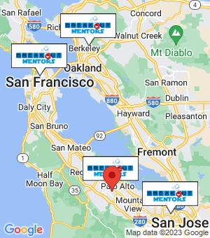 Stanford Breakout Mentors map