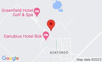 Mapa Hotel Greenfield Golf & Spa**** Bükfürdő