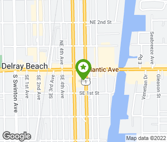 Delray Beach At The Simply Gorgeous Foot Haven Reflexology Bar Map