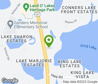 Land O Lakes Map