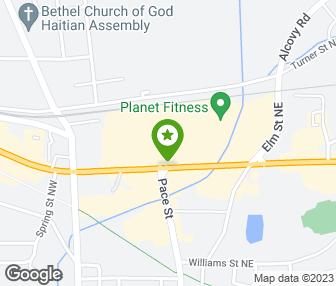 Stevi Bs Pizza Buffet Covington GA Groupon - Stevi b's us map