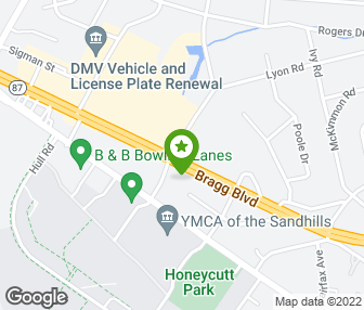 Fayetteville Nc Map Google