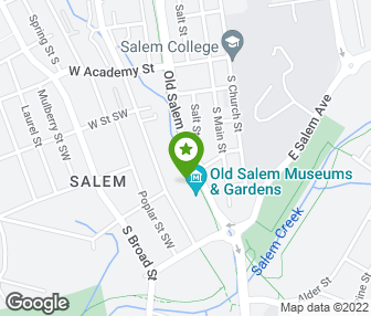 Old Salem Nc Map.Old Salem Museums And Gardens Winston Salem Nc Groupon